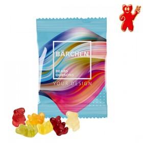 Sachet 10g d'oursons en gomme de fruits - bonbons
