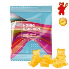 Sachet de 20g d'oursons XXL au miel - bonbons