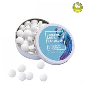 Boîte XS avec pastilles à la menthe