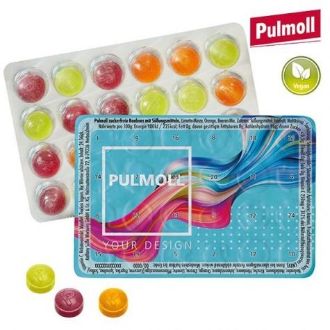 Mini calendrier de l'avent avec des pastilles Pulmoll
