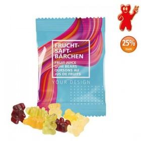 Sachet 10g d'oursons au jus de fruits - bonbons