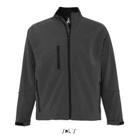 Softshell 3 couches zippée homme, doublure micropolaire RELAX