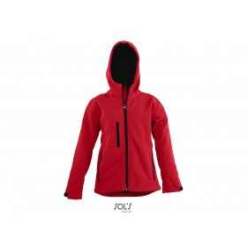 Veste softshell capuche enfant 3 couches REPLAY