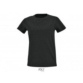 Tee-shirt ajusté col rond Femme IMPERIAL FIT 190 grs