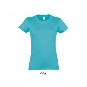 Tee-shirt femme col rond IMPERIAL 190 grs