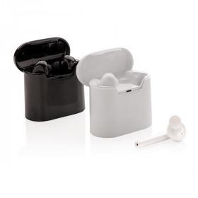 Ecouteurs sans fil dans un boitier de charge CAUGE