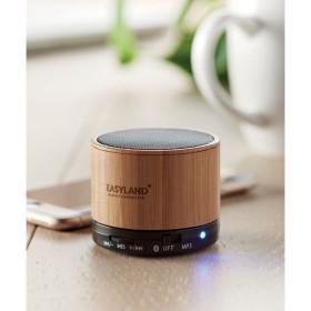 Haut-parleur Bluetooth bambou CAUNAY