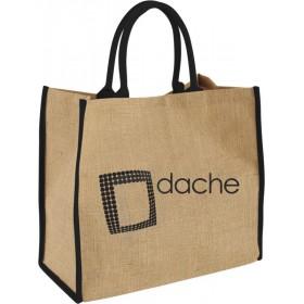 Grand sac shopping en jute