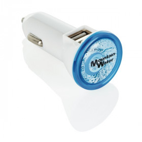 Double chargeur allume-cigare USB 2.1A CHABLIS