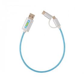 Câble lumineux 3 en 1 CHABOTTES