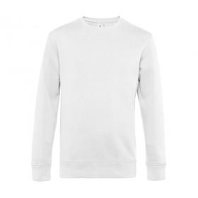 Sweat-shirt blanc homme 280 grs ultra doux