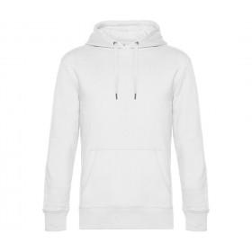 Sweat-shirt blanc homme à capuche 280 grs