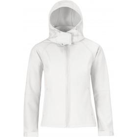 Veste softshell 3 couches femme zippée à capuche