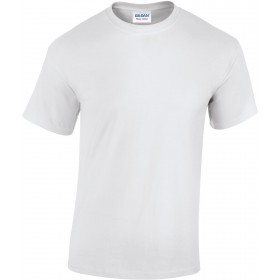 Tee-shirt homme blanc col rond 180 grs