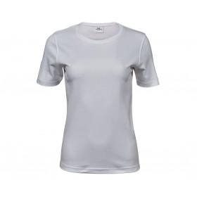 Tee-shirt femme blanc interlock 220 grs
