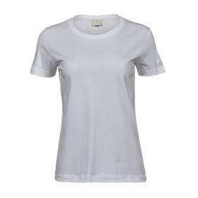 Tee-shirt blanc femme - lavage 60°