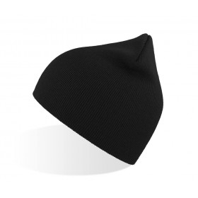 Bonnet beanie unisexe en polyester recyclé