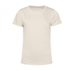T-shirt blanc femme coton organique 150 grs