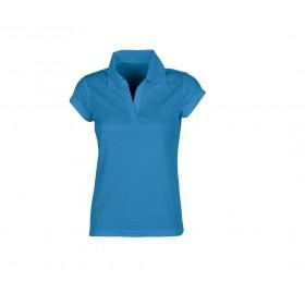 Polo couleur polyester pour femme