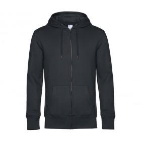Veste couleur homme zippée à capuche 280 grs