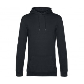 Sweat-shirt couleur homme à capuche french terry
