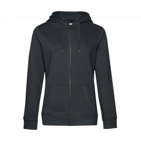 Veste couleur femme zippée à capuche 280 grs