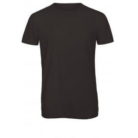 Tee-shirt tri-blend couleur homme manches courtes col rond