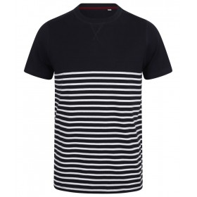 T-shirt marinière manches courtes 180 grs