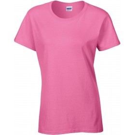 Tee-shirt femme couleur col rond 180 grs