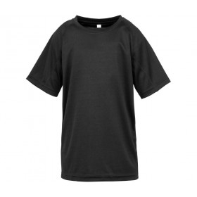 Tee shirt couleur polyester enfant coupe ample