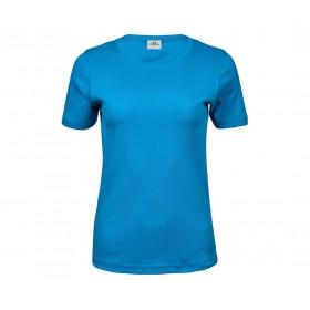 Tee-shirt couleur femme interlock 220 grs