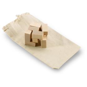 Puzzle en bois dans un sac CHAMANT