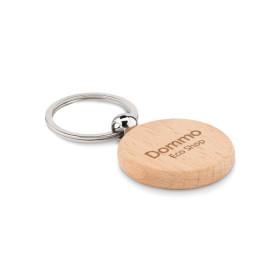 Porte-clés rond en bois BUGNY