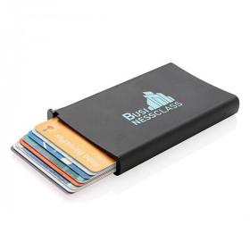 Porte cartes anti-RFID en aluminium BRUYERES