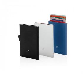 Porte-cartes en aluminium anti RFID BUFFARD