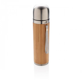 Bouteille isotherme en bambou CABASSE
