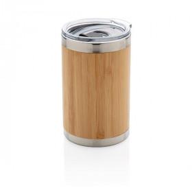 Mug double paroi finition bambou CAEN