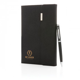 Set carnet de notes A5 et stylo ROVIGO
