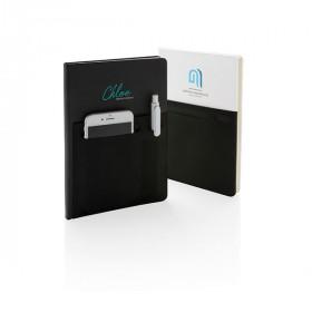 Carnet de notes A5 avec pochettes CALVIAC