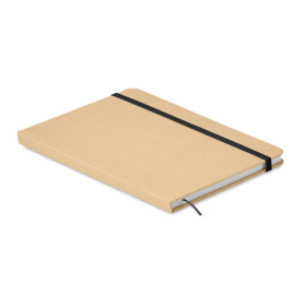 Carnet A5 80 pages en carton recyclé CALAVANTE