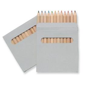 Set de 12 crayons en étui à fenêtre CAMPI
