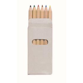 Set de 6 Crayons de couleur CAMPEL