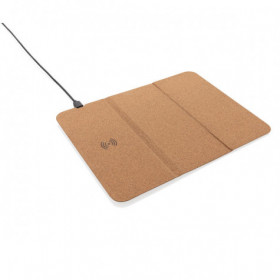 Tapis de souris en liège avec support téléphone et induction - GELLES